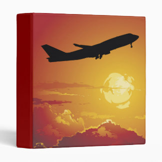 Airplane in Flight Binder