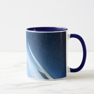 Airplane in Flight: Wing Span Mug