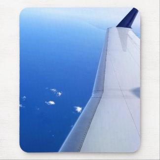 Airplane in Sky Photo v2 Mouse Pad