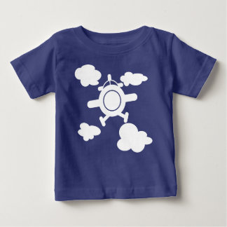 Airplane in the sky baby T-Shirt