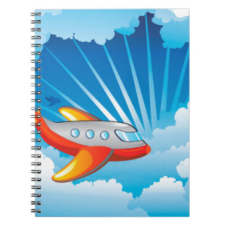 Airplane in the Sky Notebook