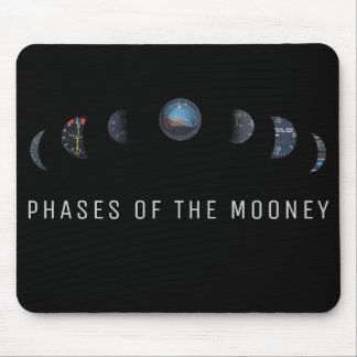 Airplane Instruments, phases of mooney mouse pad