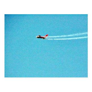 Airplane Jet Mig Postcard