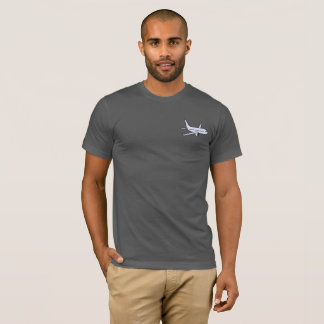 Airplane Men's Super Soft T-Shirt -Asphalt