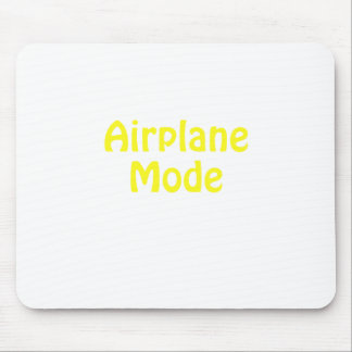 Airplane Mode Mouse Pad
