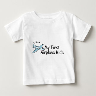 Airplane My First Airplane Ride Baby T-Shirt