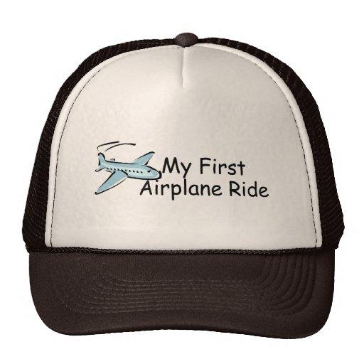 Airplane My First Airplane Ride Mesh Hat