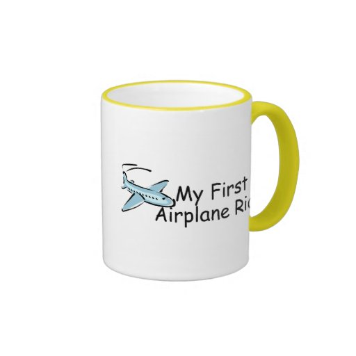 Airplane My First Airplane Ride Coffee Mug
