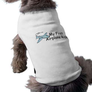 Airplane My First Airplane Ride Pet T-shirt
