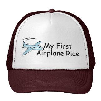 Airplane My First Airplane Ride Trucker Hat