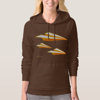 Airplane of paper in the Moleton…! Hoodie