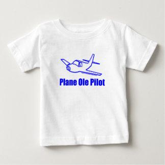 Airplane Pilot Baby T-Shirt