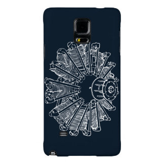 Airplane Piston Engine Phone cover