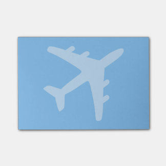 Airplane Post-it Notes