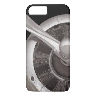 Airplane Propeller Closeup iPhone 8 Plus/7 Plus Case