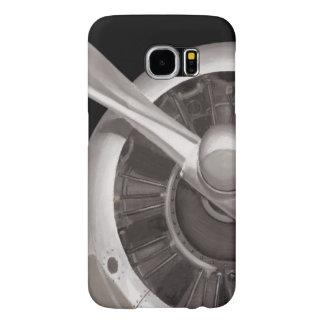 Airplane Propeller Closeup Samsung Galaxy S6 Cases