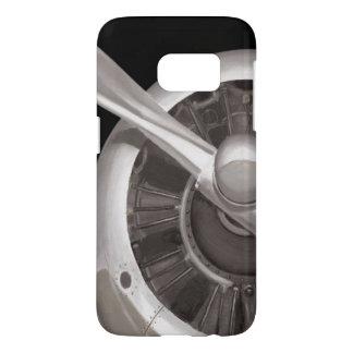 Airplane Propeller Closeup Samsung Galaxy S7 Case