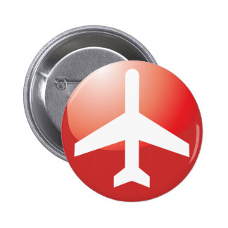 Airplane Red Easy Button
