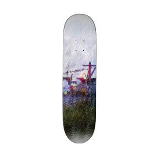 Airplane Skate Deck