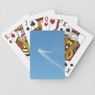Airplane Stunts Playing Cards, Blue Playing Cards