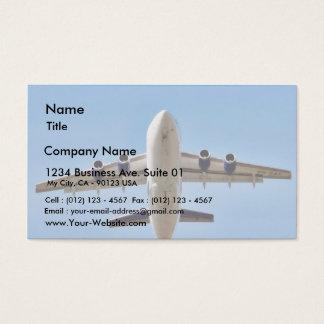 Airplane Takeoff High Business Card
