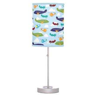 Airplane Theme Boy's Room Decor Table Lamp