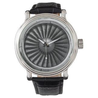 Airplane Turbine Engine Watch