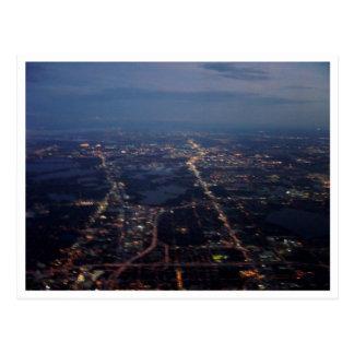 Airplane View Postcard