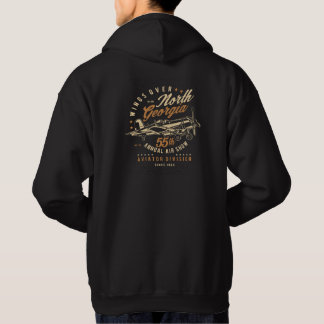 Airplane Wings Over North Georgia Hoodie