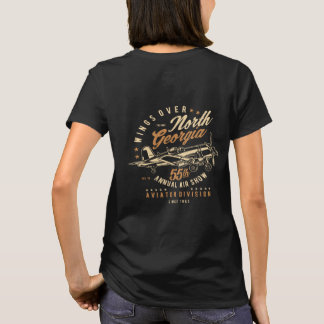 Airplane Wings Over North Georgia T-Shirt