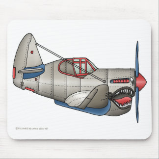 Airplane WW2 Fighter Plane Mouse Pad