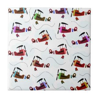 Airplanes Ceramic Tiles