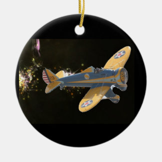 airplanes christmas ornament