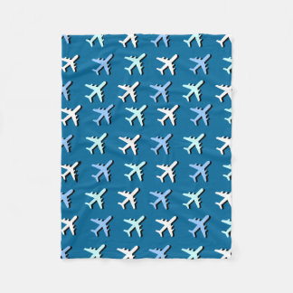 Airplanes Fleece Blanket