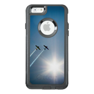 Airplanes Flying on Blue Sky with Sun. OtterBox iPhone 6/6s Case