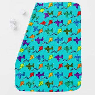 Airplanes & Kites I Baby Blanket