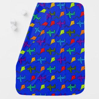 Airplanes & Kites III Baby Blankets