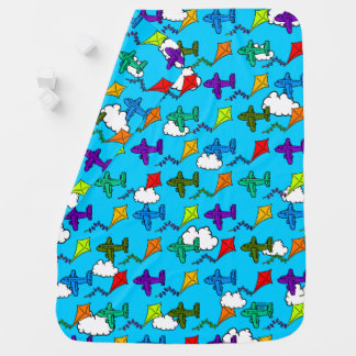 Airplanes & Kites VI Baby Blanket