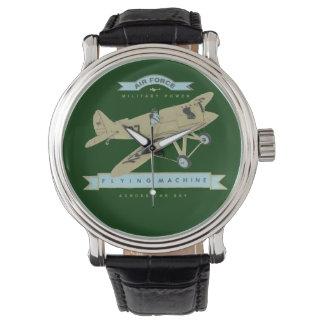airplanes wrist watches