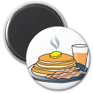 Airport Fundraiser Pancake Breakfast 2 Inch Round Magnet