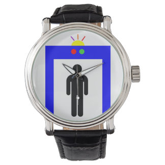 airport metal detector security alarm stick man sy watch