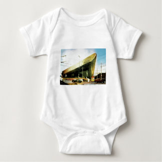 Airport, Museum..no just a trainstation Baby Bodysuit