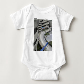 Airport Parking Structure Baby Bodysuit