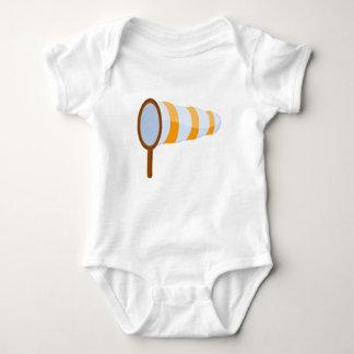 Airport Windsock Baby Bodysuit