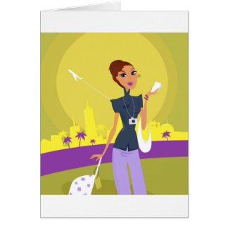 Airport woman gold card