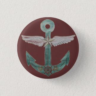 Airship Anchor 1 Inch Round Button
