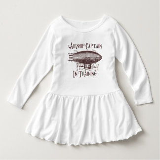 Airship Captain in Training, Steampunk for Kids Dress