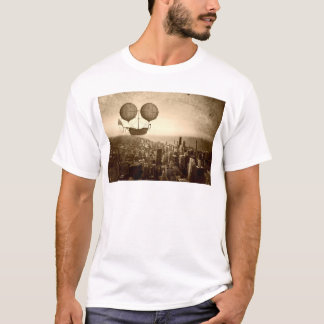 Airship Over Chicago T-Shirt