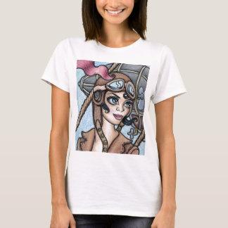 Airship Pilot Steamface T-Shirt