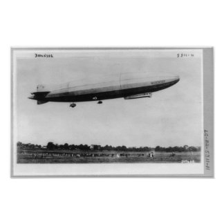 Airship Zeppelin Bodensee Berlin Germany Poster
